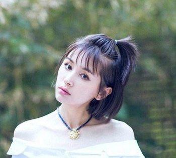女生齐刘海苹果头发型 苹果头发型怎么扎