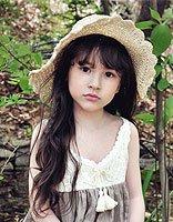 小孩的美丽发型图片 女童美丽发型