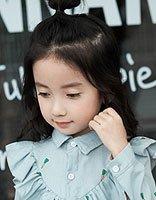 适合小学生的丸子头发型 怎么做可爱丸子头