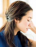 花样盘发器的简单用法 中年妇女盘发器使用图解