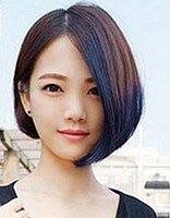 不对称沙宣头发型图片 初中生沙宣头发型图片