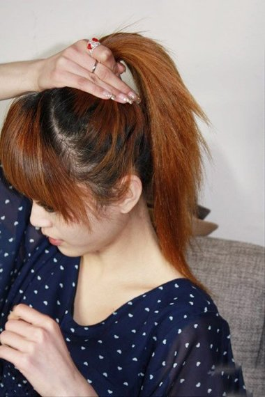女生怎样扎头发可爱 可爱头发造型步骤