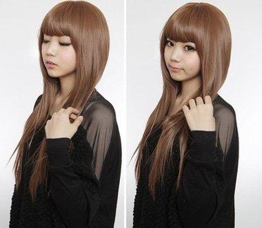 适合25岁左右的直发发型图片 直发内蓬发型图片女