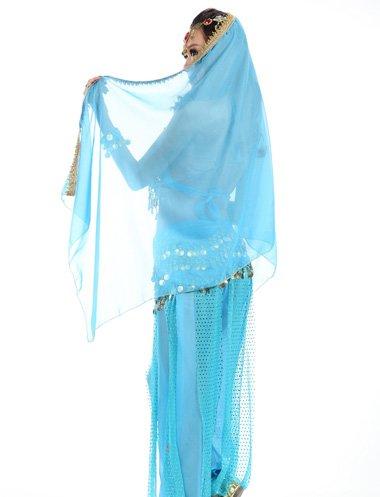 纱巾如何做成头花要精细教程