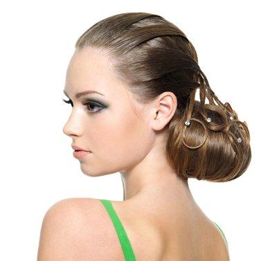 上班盘头发更有精神 中年女人怎么盘发有精神