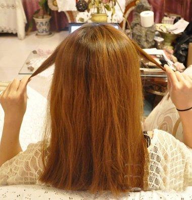 怎样自己梳一个看上去干净整洁的蝎子辫 怎么扎整洁的头发
