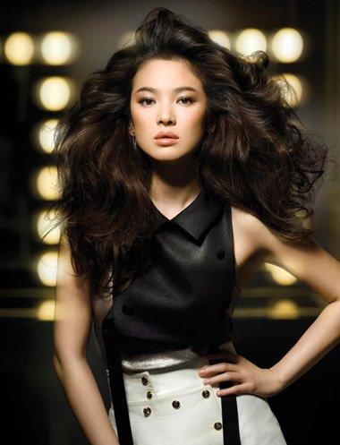 宋慧乔发型颜色 2018年韩国最流行发型和颜色