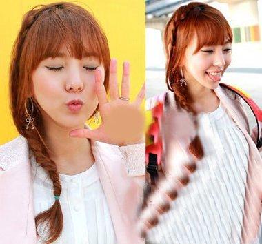 90后女生发型松散的韩式女生发型怎么扎 90后扎发型大全