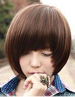 高额头直发适合什么发型 篷松直发发型图片