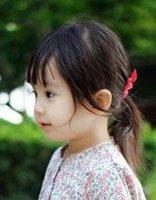 1-3岁女童简单发型 女儿童最新发型