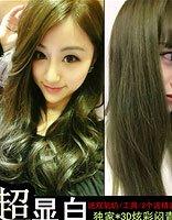 头发颜色亚麻青是什么色 什么颜色的头发显得发质好