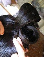 教你如何盘头发蓬松 盘出蓬松头发