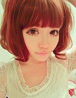 少女时代扎发方法 最美少女扎发