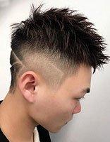 男人的头不能摸是因为怕发型走形 定位烫发型让女票敞开玩