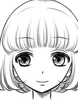不像大脸全靠发型撑着 会修颜发型的女生才可爱哦