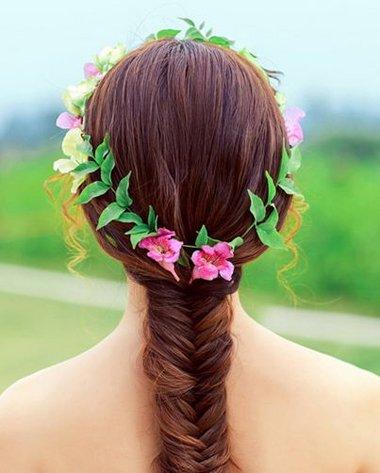 从长发扎发开始走上精致女生道路 淑女扎发都用这些套路