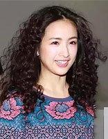 胖脸女生适合的泡面卷头发 高个子女烫卷蓬松头发