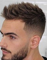 带男票理清凉2018世界杯体育投注网站造型 欧美男发潮流款都不长