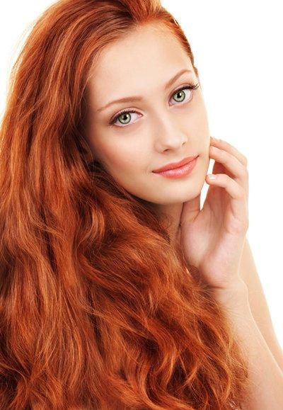 38岁中年女士陶瓷烫长头发 四方脸女性烫中卷头发打造