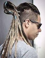 男生编辫子的发型有哪些类型 脏辫适用于各种脸型展示