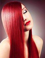 拉直与柔顺头发两者有何区别 长脸女生直发+头发颜色