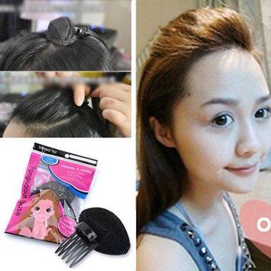密发神器刘海增高垫怎么用 用过垫头发的增高垫发型图片