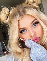 只有金色头发才能扎出的芭比视觉辫子 独属中分女孩的扎长发秘籍