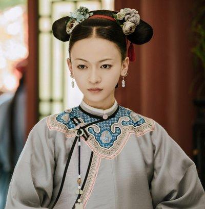 《延禧攻略》女主清宫造型清雅脱俗? 她的现代长发造型更美