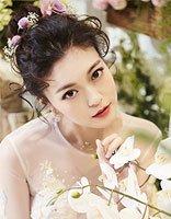 为爱披上婚纱的你想好发型怎么梳了吗 夏季新娘小清新盘发发型