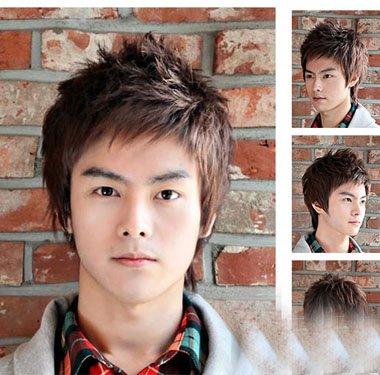 韩系男生全靠染色走向时尚顶级 你与帅哥间只是差款头发色彩