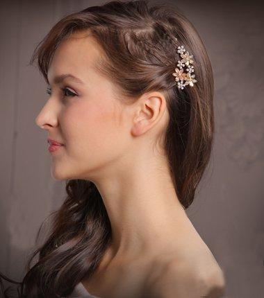 十五岁时最爱的发夹三十岁也还能用 轻熟女发型与童话风发饰配的正好