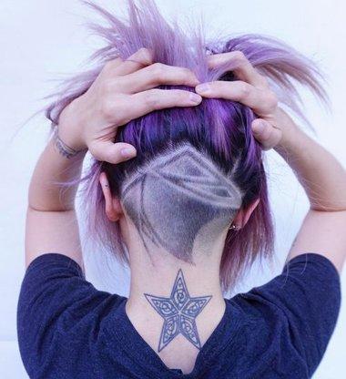 女生剪undercut也能很可爱 2018全新女生undercut发型你想尝试吗
