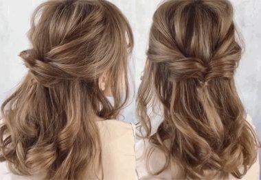 想扎中长发怎么总也扎不好 顶级浪漫半扎发都有繁杂细节别错过