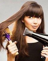 经常用吹风机吹头发会掉发吗 不会!不用用吹风机头发也会掉的