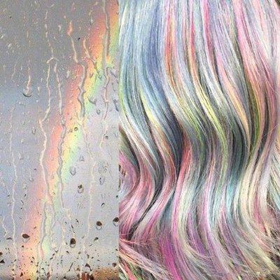 亮眼梦幻的挑染你敢试试吗? 2018发型师最新染发作品堪比艺术