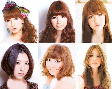女生6种常规脸型变小脸秘诀 修颜发型就是要让脸型变得这么小
