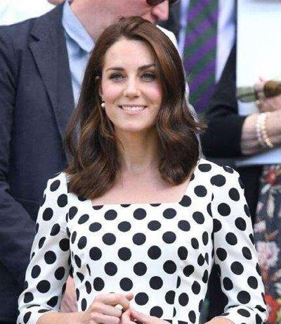 锁骨卷这个发型可能要大火 凯特王妃都把长发剪掉在梳了