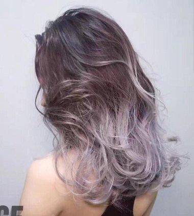 吃透染发基本配色原则 才能染出美好混合色中长发