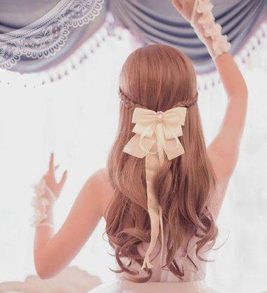 吸吸今日份儿软妹漫风扎发 把二次元日漫风扎发做成三次元常态款