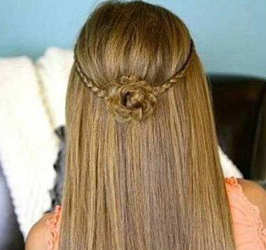 长头发怎么挑出发丝编小辫子 细长小辫子不会隐身更添精致