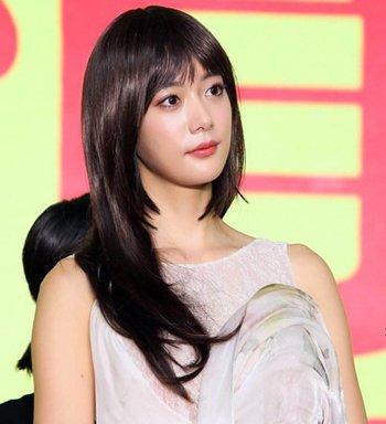姬发式发型不止日本流行 今秋韩国女明星批量换姬发式发型