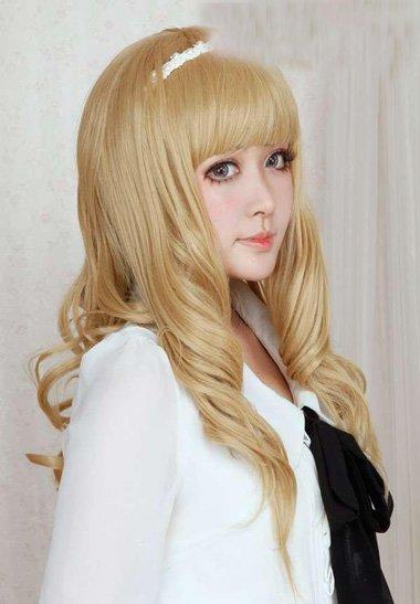 温婉大方长头发好感度百分百造型 修饰甜美浪漫度的女生长卷发