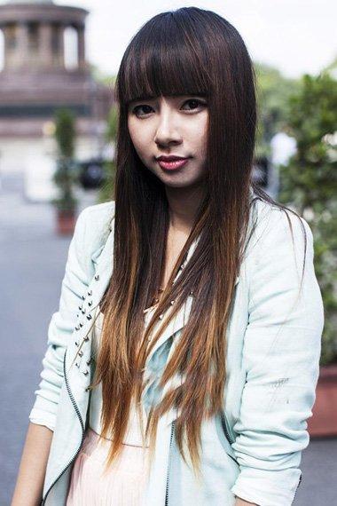 新一代女神拉直发便是春花灿烂时 满满仙气女郎直发诠释唯美发