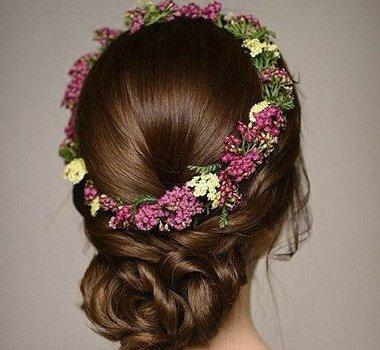 做新娘无需追求花哨韩版盘发足够经典 过目不忘是因为韩国新娘盘发太精巧了
