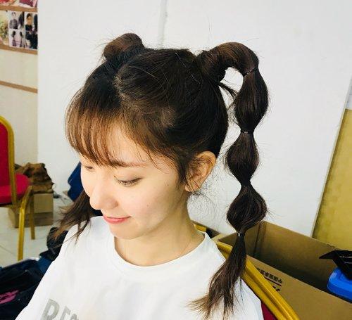 青春少女日韩系双马尾辫这样扎最俏皮 时光易逝趁着年轻赶紧拥有