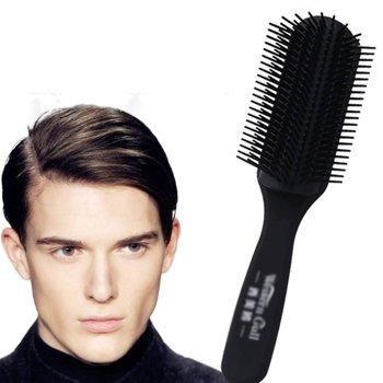 油头用什么梳子打理最有型 资深发型师分享男士油头梳子的用法教程