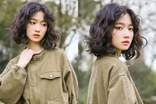 梦幻小仙女蛋卷头发值得你拥有 保持年轻模样更吸眼女生卷发