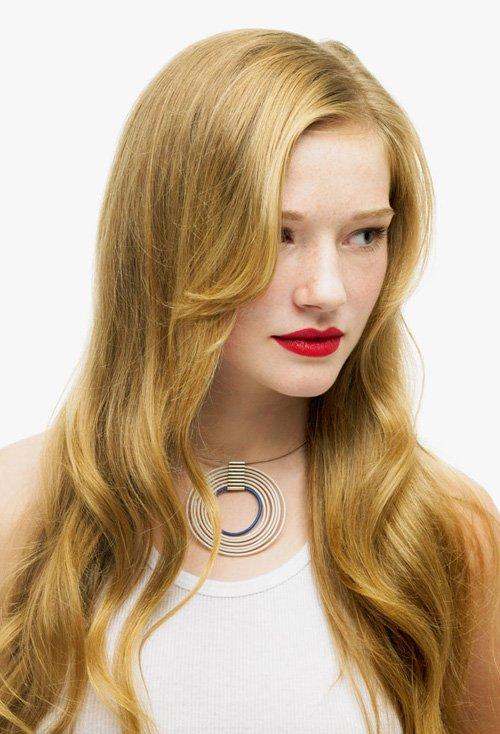 非凡脱俗女自然卷头发造型设计 飘逸时尚更紧跟日欧风卷烫发