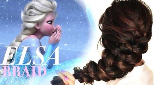 第二季Elsa女王同款大辫子编发教程 留了长发学学编发教程才不辜负