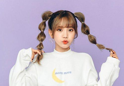 """5种韩式高马尾发型让工作日不重样 习惯""""高高在上""""的辫子就别改了吧"""